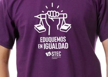 EDUQUEMOS EN IGUALDAD: Camisetas reivindicativas para el 8 de marzo