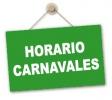 Horario de atención durante la semana de Carnavales