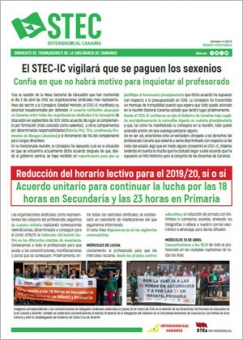 Boletín Informativo STEC-IC abril 2019