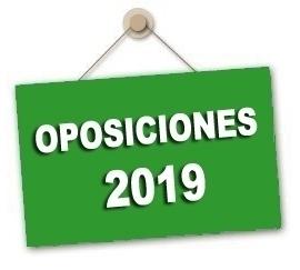 Listas provisionales participantes sorteo de vocales tribunales Oposiciones 2019