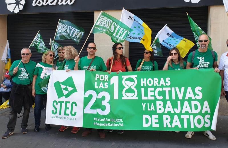El Gobierno de Canarias contratará 1250 docentes para volver a las 18 horas en Secundaria