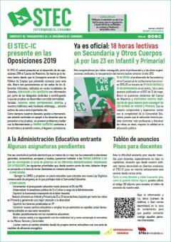 Boletín Informativo STEC-IC junio 2019