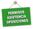 Aclaraciones sobre los permisos para presentarse a las oposiciones