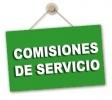 Solicitud Comisión de Servicio por finalización mandato dirección y por cargo electo