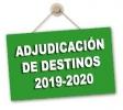 Adjudicación provisional de destinos cuerpo de maestros/as curso 2019/2020