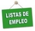 Ampliación de Listas de Empleo de Secundaria 2018: Listado de Excluidos