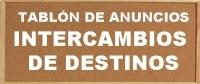 Tablón de anuncios para INTERCAMBIOS DE DESTINOS 2019-20