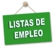 Previsión de especialidades para la inminente apertura de Listas de Empleo