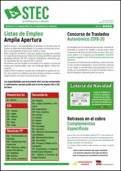 Boletín Informativo STEC-IC Octubre 2019