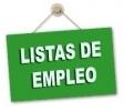 Ampliación de Listas de Empleo: aspirantes por especialidad