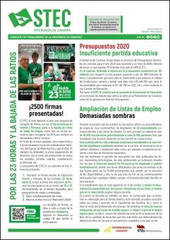 Boletín Informativo STEC-IC Noviembre 2019
