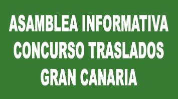 Asamblea Informativa Concurso de Traslados en Gran Canaria abierta a todo el profesorado