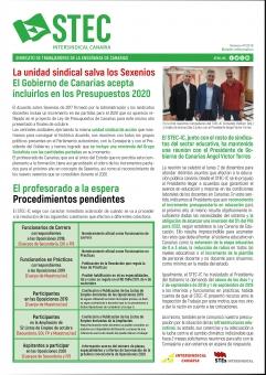 Boletín Informativo STEC-IC Diciembre 2019