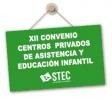 Corrección de errores XII Convenio colectivo de centros de asistencia y educación infantil