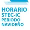 Horario de atención del STEC-IC durante el periodo navideño