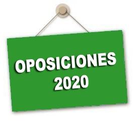 Previsión de especialidades y número de plazas para las Oposiciones 2020