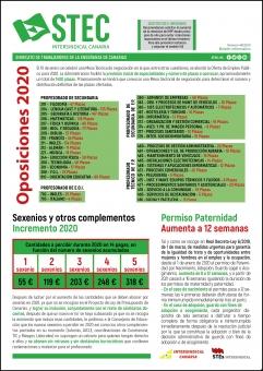 Boletín Informativo STEC-IC Enero 2020