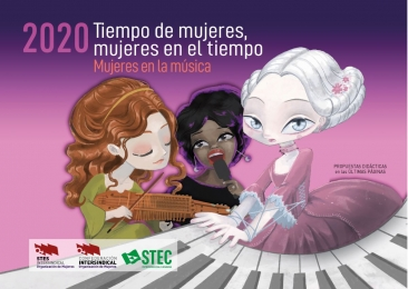 30 de enero, presentación pública del Calendario de Mujer del STEC-IC
