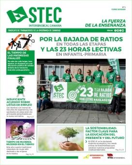 El STEC-IC distribuye una nueva edición de su periódico en los centros educativos