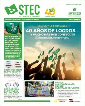 El STEC-IC lanza una edición de su periódico con un Especial Elecciones
