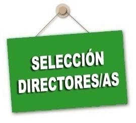 Convocatoria selección de directores/as mandato 2020-2024