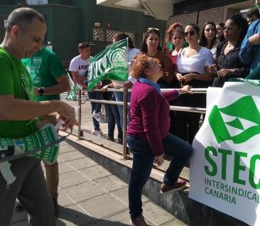 El STEC-IC exige a la directora General de Personal de Educación que rectifique o dimita