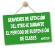 Atención del STEC-IC durante el periodo de suspensión de clases presenciales