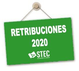 Resolución 21/2020 con instrucciones en relación a las Retribuciones para el año 2020
