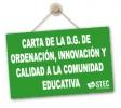 Carta a la Comunidad Educativa de la Dirección General de Ordenación, Innovación y Calidad