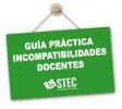 Guía práctica sobre incompatibilidades docentes