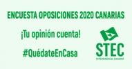 Encuesta sobre las Oposiciones docentes 2020 en Canarias