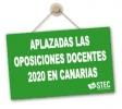 Canarias decide aplazar las Oposiciones docentes 2020
