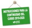 Instrucciones de la Consejería de Educación para la continuidad del proceso educativo curso 2019-2020