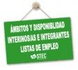 Guía Práctica solicitud ámbito y disponibilidad Profesorado Interino e integrantes Listas de Empleo