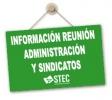 Resumen de la Mesa Técnica de negociación de 28 de abril de 2020