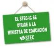 El STEC-IC se dirige a la Ministra de Educación para exigir que no ponga en riesgo la salud de la Comunidad Educativa