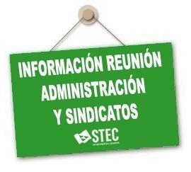 Información reunión Consejería y sindicatos sobre Licencias y Permisos y Adjudicación de Destinos