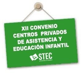 Resolución de 10 de marzo modificación XII Convenio colectivo de centros de asistencia y educación infantil