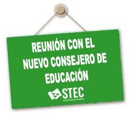 Reunión de las organizaciones sindicales con el Consejero de Educación en relación al proceso de desescalada