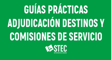 Guías Prácticas para la Adjudicación Provisional de Destinos y las Comisiones de Servicio