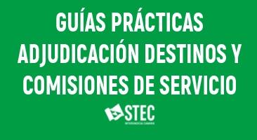 Guías Prácticas para las Comisiones de Servicio y la Adjudicación Provisional de Destinos