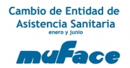 Cambio de entidad sanitaria en enero para funcionarios/as adscritos a MUFACE