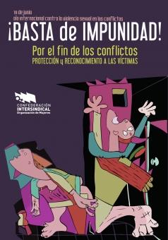 19 de junio, Día Internacional contra la Violencia Sexual en los Conflictos