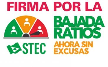 FIRMA POR LA BAJADA DE RATIOS ¡AHORA SIN EXCUSAS!
