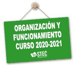 Instrucciones de Organización y Funcionamiento para el curso 2020-2021
