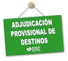 Adjudicación de destinos definitivos de Secundaria y Otros Cuerpos curso 2020-2021