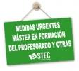 Master en Formación del Profesorado: Real Decreto-Ley 31/2020 medidas urgentes educación no universitaria