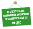 Enmiendas del STEC-IC al Anteproyecto de Presupuestos Generales de Canarias para 2021