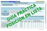 Guía Práctica para la interpretación de la posición en lista a través del expediente personal