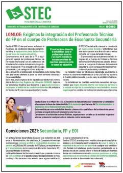 Boletín Informativo Noviembre 2020